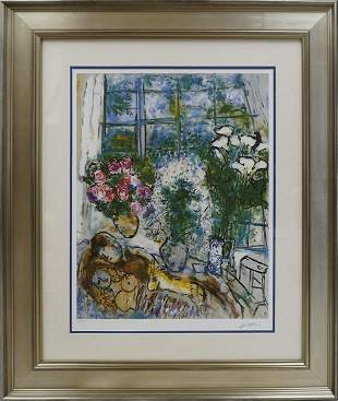 Marc Chagall Lithograph Limited Edition