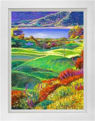California Fairway by David Lloyd Glover Mixed Media