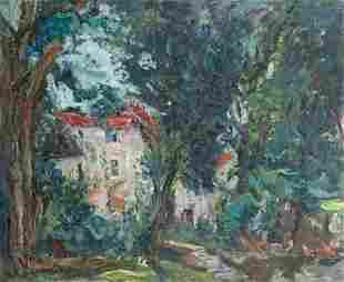 "Michel Kikoine 1892 - 1968 Oil on canvas title: ""house"