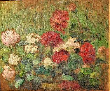 LOURIER-DREYFUS Jeanne (1873-1955) Floral Still Life