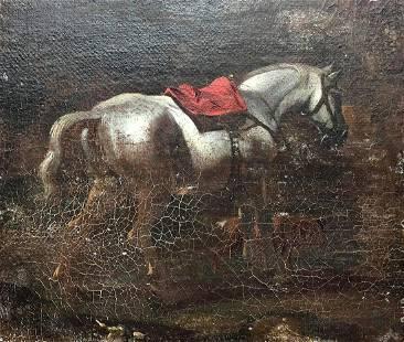 Theodore Gericault Original Oil