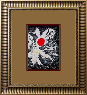 Joan Miro Original Color Plate Lithograph 1968