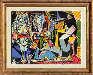 Women of Algiers Limited Edition Pablo Picasso