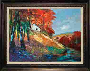 Michael Schofield Original on canvas  landscape