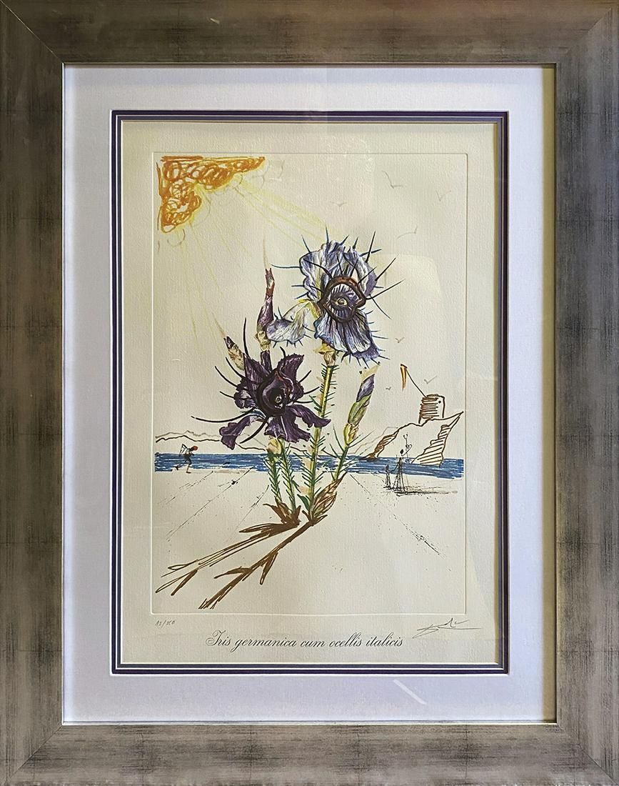 Salvador Dali Hand signed and numbered Limited Edition