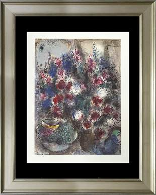 Marc Chagall Limited Edition Lithograph