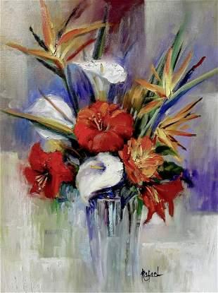 Rafael original Oil on canvas
