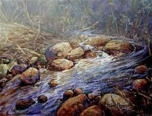 Original oil on canvas by Rafael