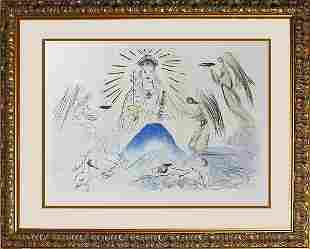 Salvador Dali Limited Edition Lithograph Kingdom of
