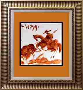 Pablo Picasso original lithograph from 1969