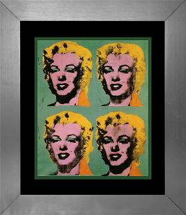 Andy Warhol Lithograph from 1991