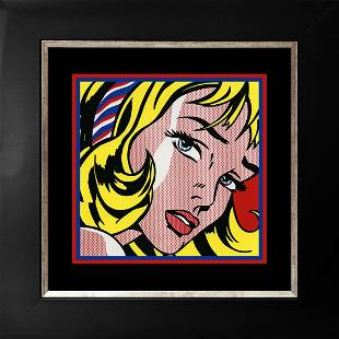 Roy Lichtenstein 1965 Serigraph