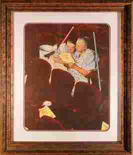 Norman Rockwell Limited Edition Lithograph 2