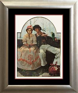 Norman Rockwell Voyager Lithograph