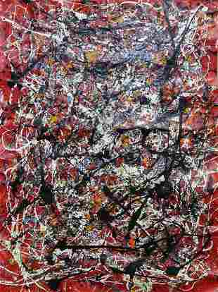 Michael Schofield Original oil on canvas Abstract