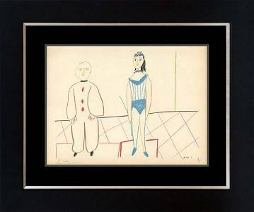 Pablo Picasso Original Lithograph Hand signed and