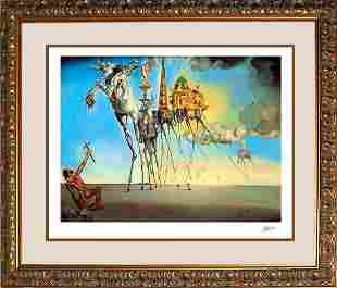 Salvador Dali The Temptation of St Anthony Limited