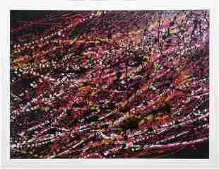 Original Oil on canvas Robert Copple Abstract