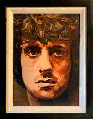 Zinovy Shersher Original on canvas Sylvester Stallone