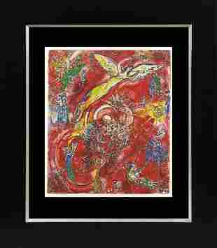 Marc Chagall Lithograph from 1975