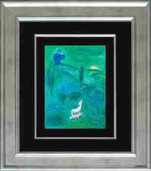 Marc Chagall Hand Signed Chagall