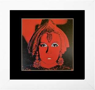 Andy Warhol AP Original Silkscreen Serigraph The Star