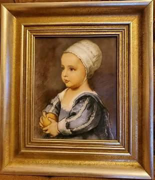 Rosenthal Baby Stuart von Anton van Dyck porcelain