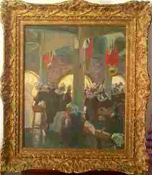 Rare & Old Spanish Painting Juan E. MINGORANCE NAVAS