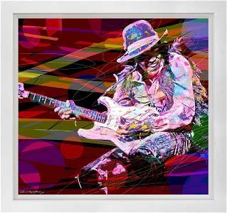 Jimi Hendrix Original mixed media David Lloyd Glover