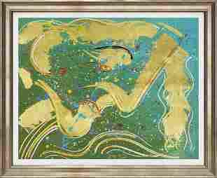 Gaylord Soli original Approx 34x24 Image size Custom