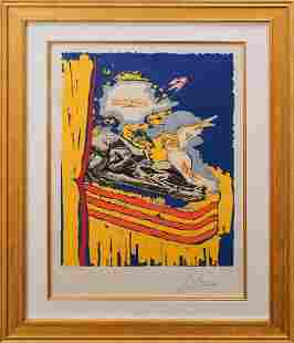 Salvador Dali The Resurrection Judgement Original
