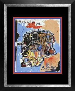 Jean Michel Basquiat Lithograph from 1981