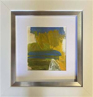 Willem de Kooning Color Plate Lithograph from 1970