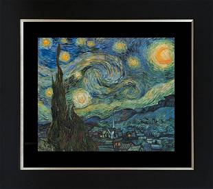 Starry Night after Vincent Van Gogh Limited Edition on