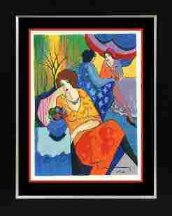 Tarkay Limited Edition Serigraph