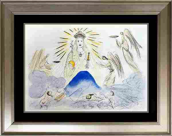 Salvador Dali Lithograph Limited Editon Hand signed and
