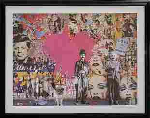 Mr. Brainwash Limited Edition Lithograph