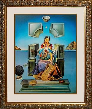 Salvador Dali-Ltd Ed The First Study for Madonna