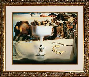 Salvador Dali on Canvas -Apparition of Face Limited