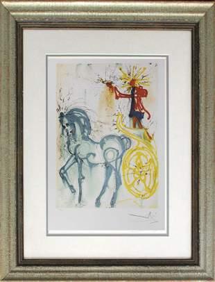 Salvador Dali Limited Editon Lithograph