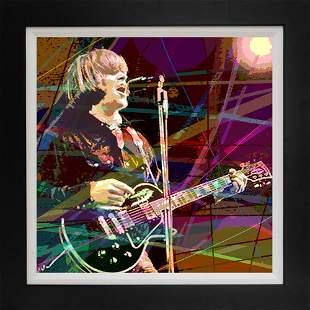Mixed Media Original on canvas by David Lloyd Glover