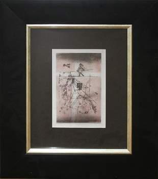 Salvador Dali Color Plate LIthograph
