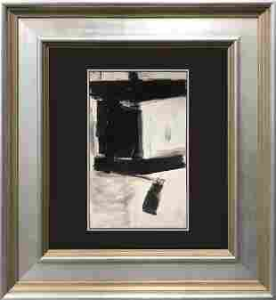 Franz Kline color plate Lithograph Abstract