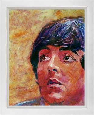 Hand embellished Limited Edition canvas by David Lloyd