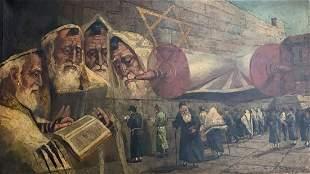 Maurycy Trebacz ( 1861-1941) Technique: oil and canvas