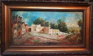 Artist Jose Montenegro Capell (1853-1929) Original oil