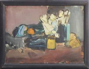 Alexandru Ciucurencu ( 1903-1977) Still Life from 1961