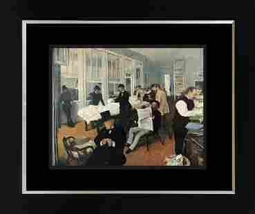 Edgar Degas hand Hand Embellished canvas
