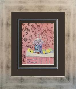 Henri Matisse Color Plate Lithograph