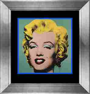 Andy Warhol Color Plate Lithograph